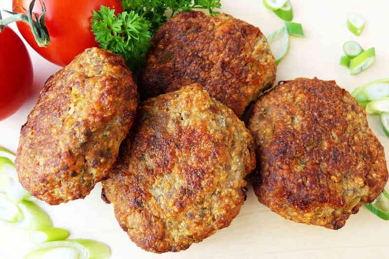 Keto turkey burger patties or meatballs